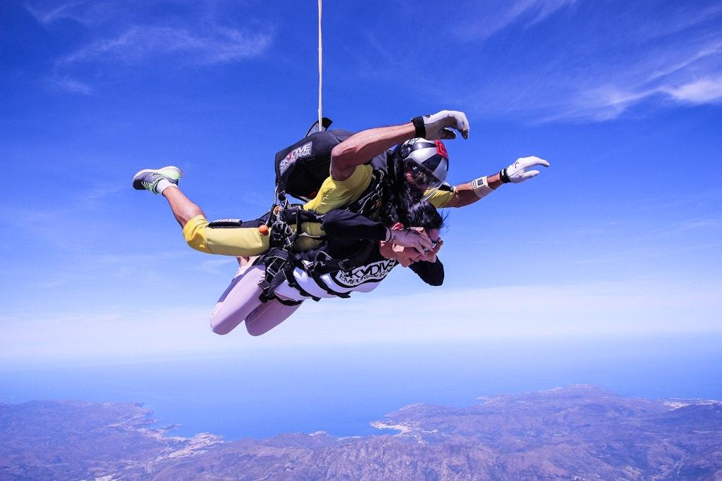 Skydive in Tirol in Austria