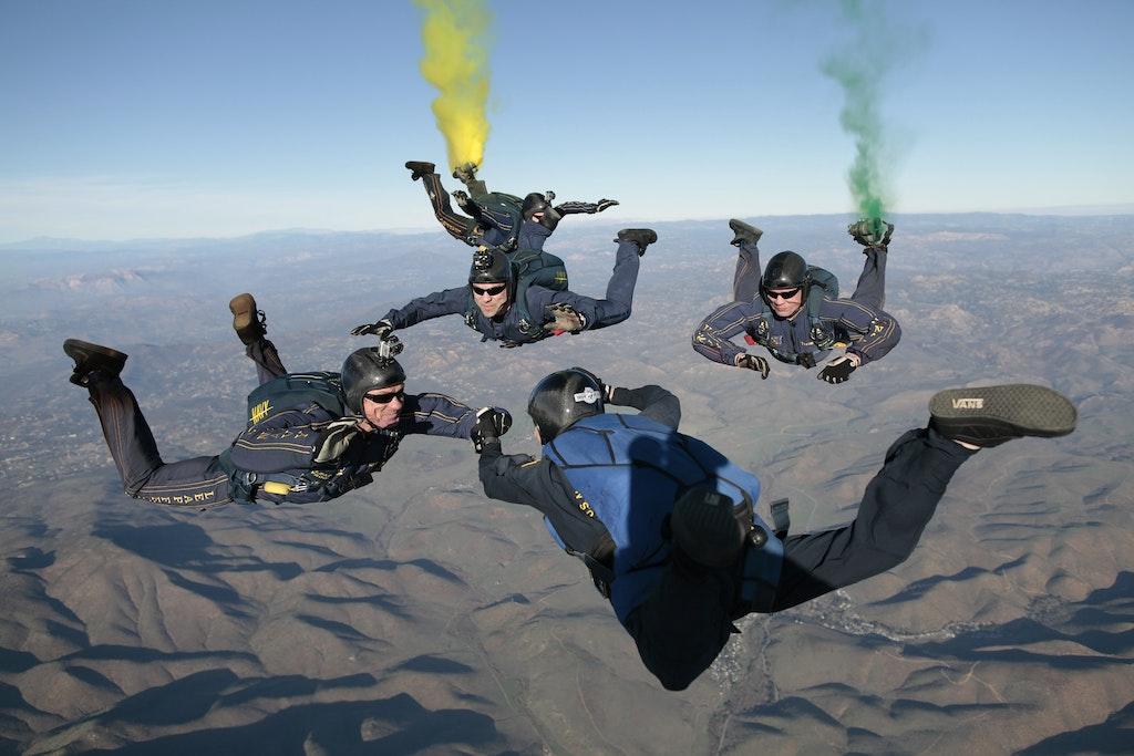 Furstonfield Skydive in Austria