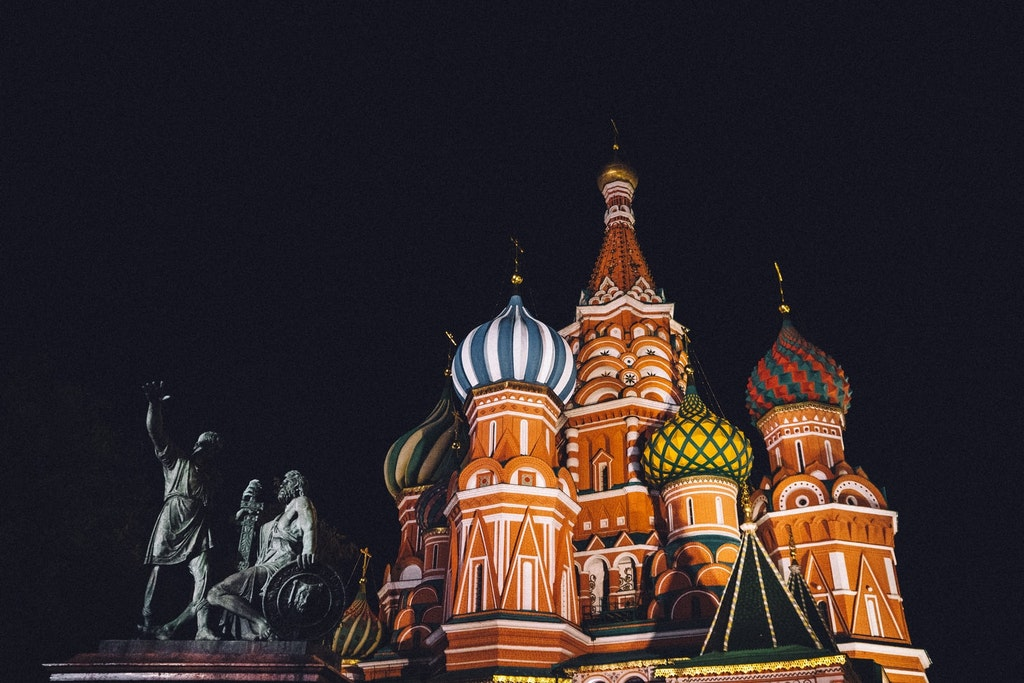 tower at St. Basil's Cathedral