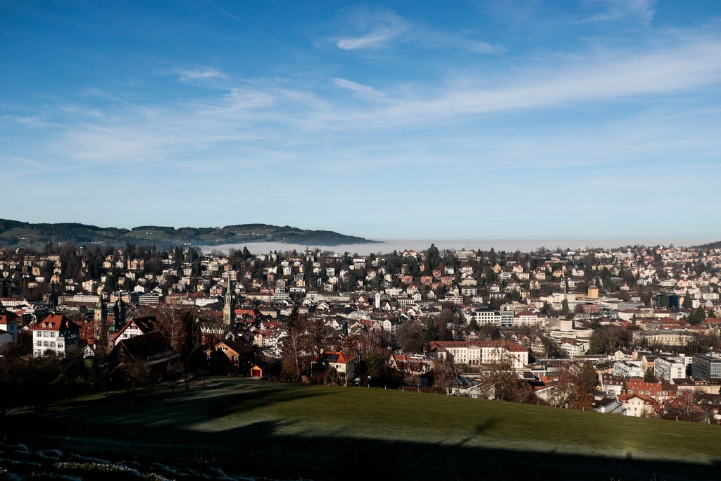 Town St.Gallen, Places to Visit In Switzerland in March