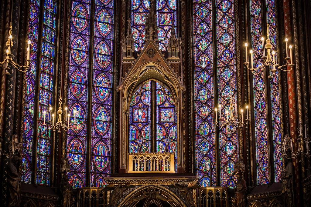 Sainte Chapelle interiors