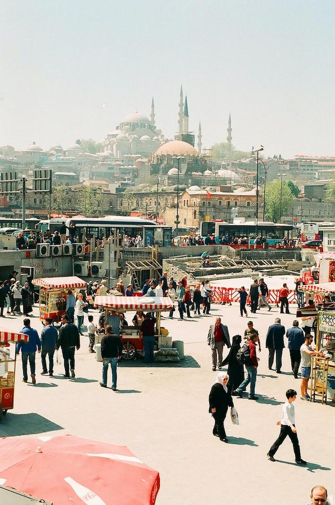 turkey market space