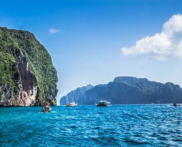 The beautiful islands in Phuket