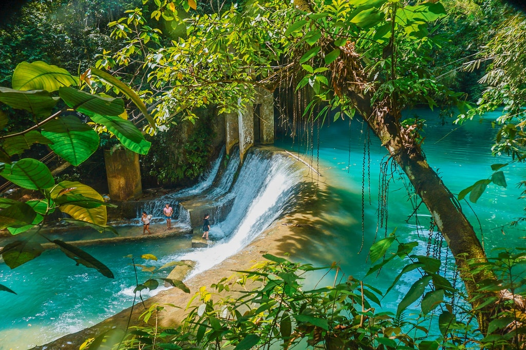 Waterfall in the Philippines