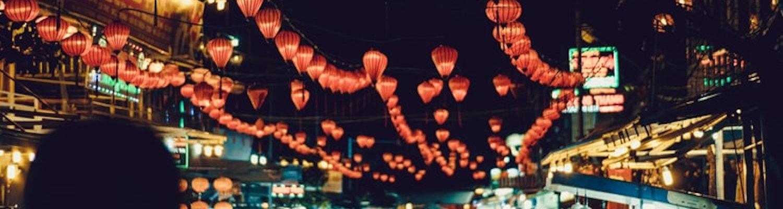 Night Shopping in Vietnam