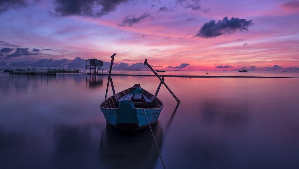 vietnam sunrise