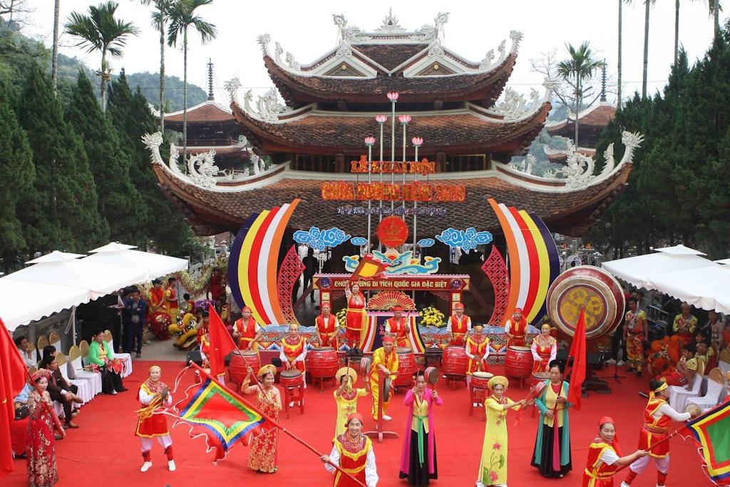 Festival at Perfume Pagoda