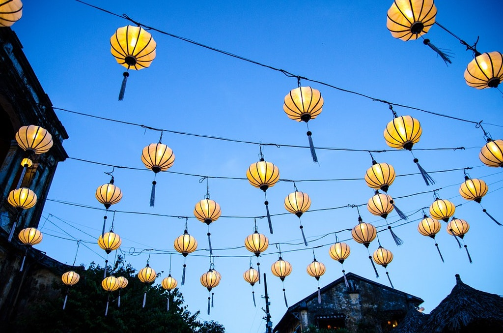 Hoi An Lanterns in the evening