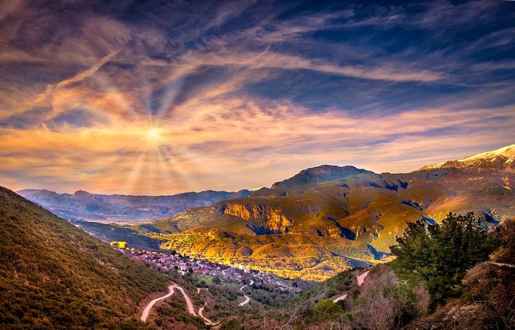 Mountains of Greece