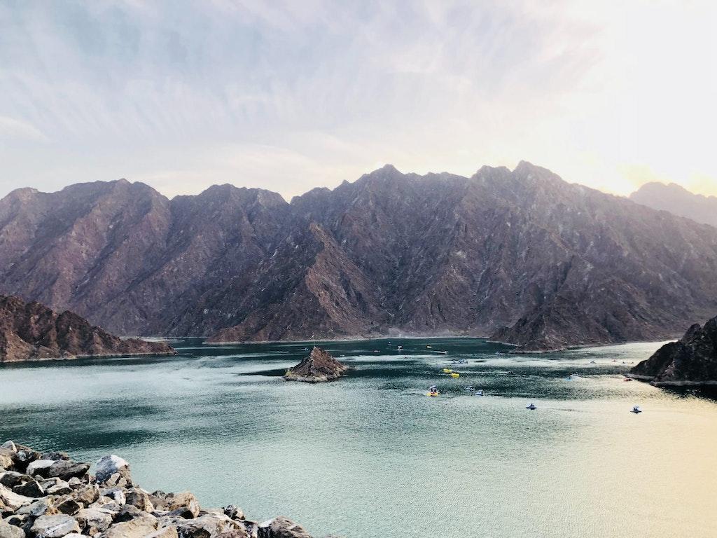 A scenic view in Hatta Dubai