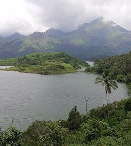 Wayanad, ariel view of wayanad