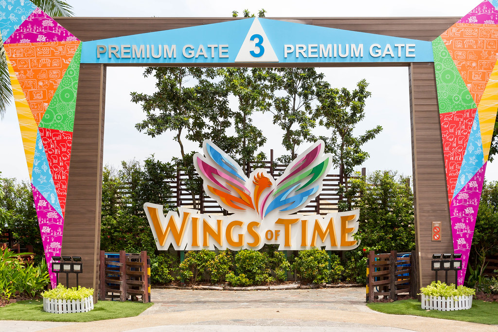 Wings of Time entrance