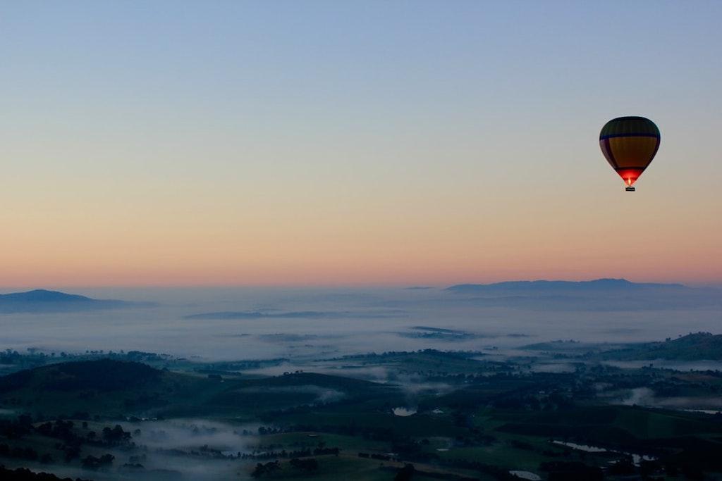 Yarra Valley hot air ballooning