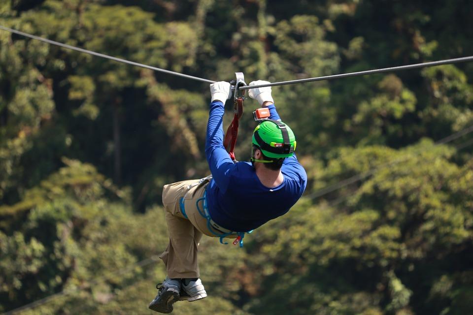 zipline at geneva canopy tours