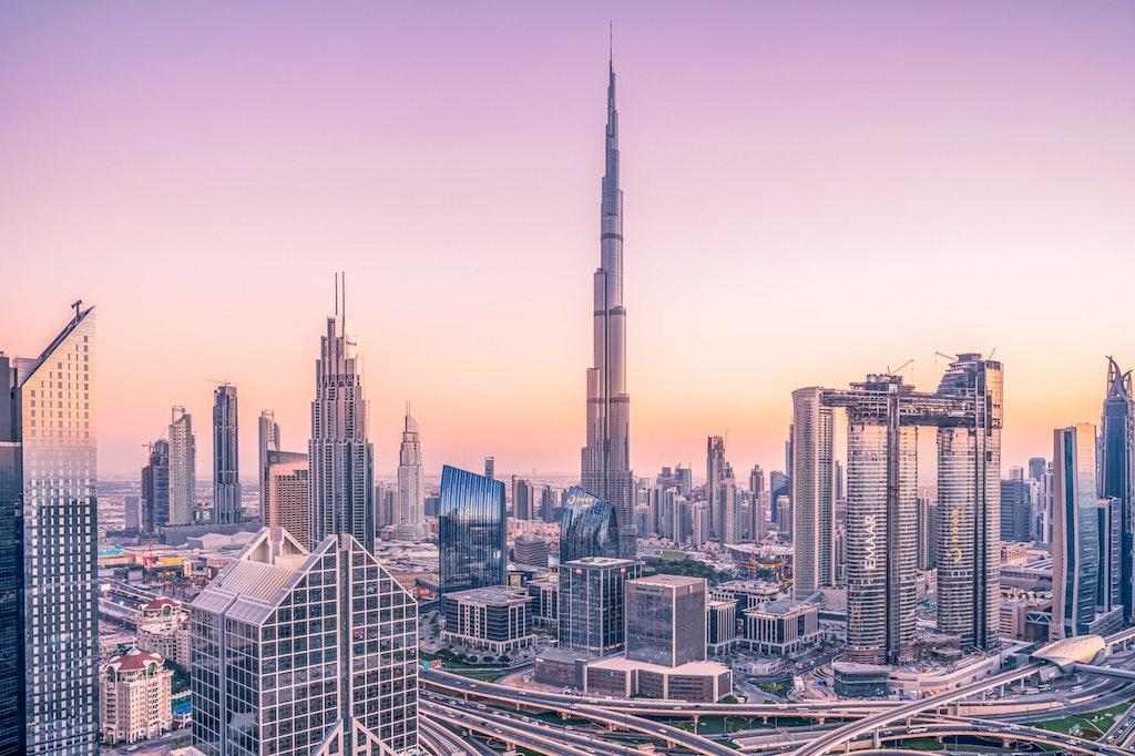 A picturesque view of Dubai