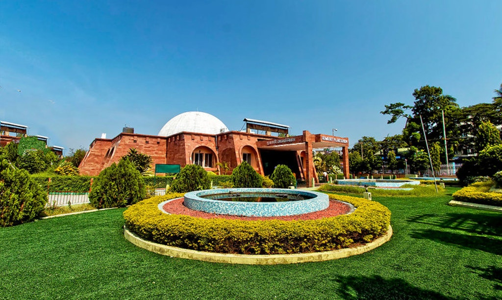 Guwahati Planetarium, the best tourist place for every science enthusiasts.