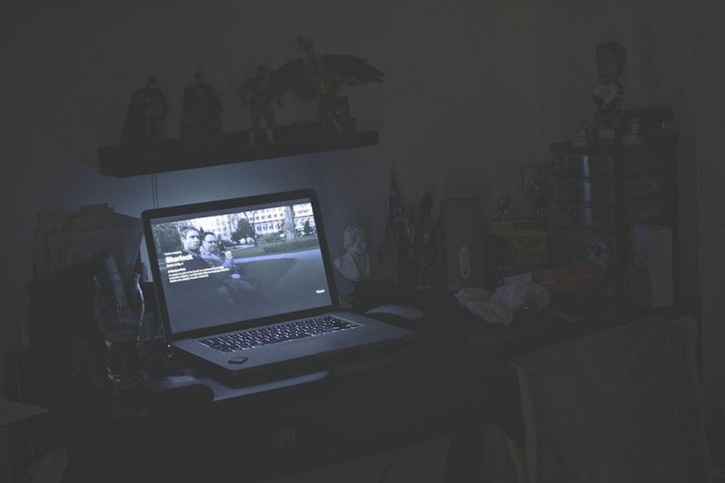 Watching Netflix