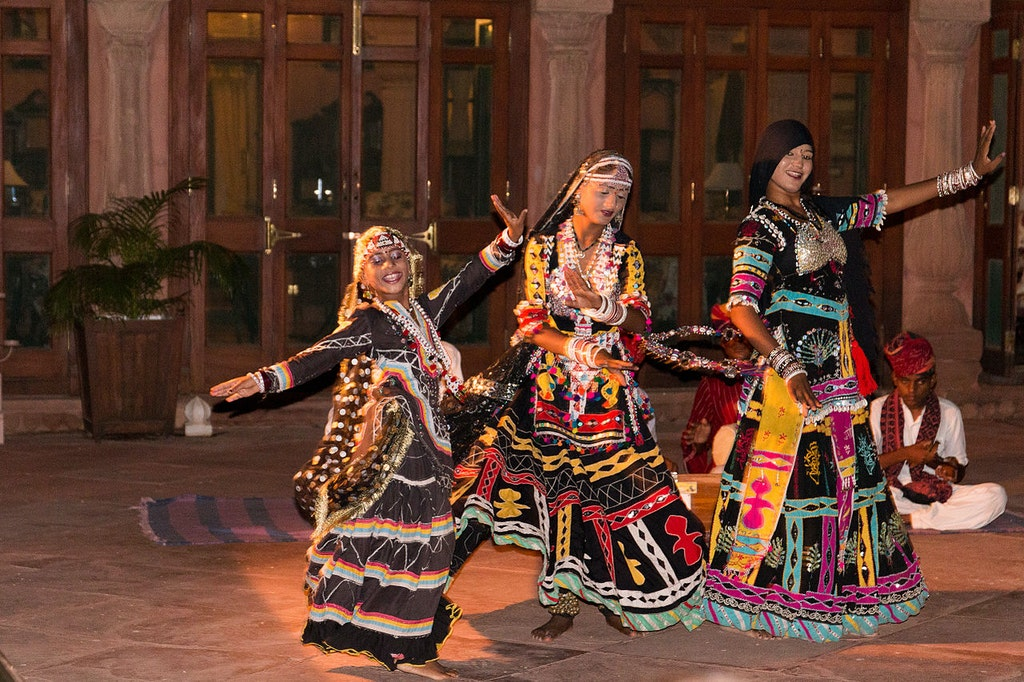 Gajner Palace dance and shows