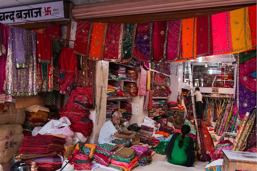 Tripolia Bazar near Bapu Bazar