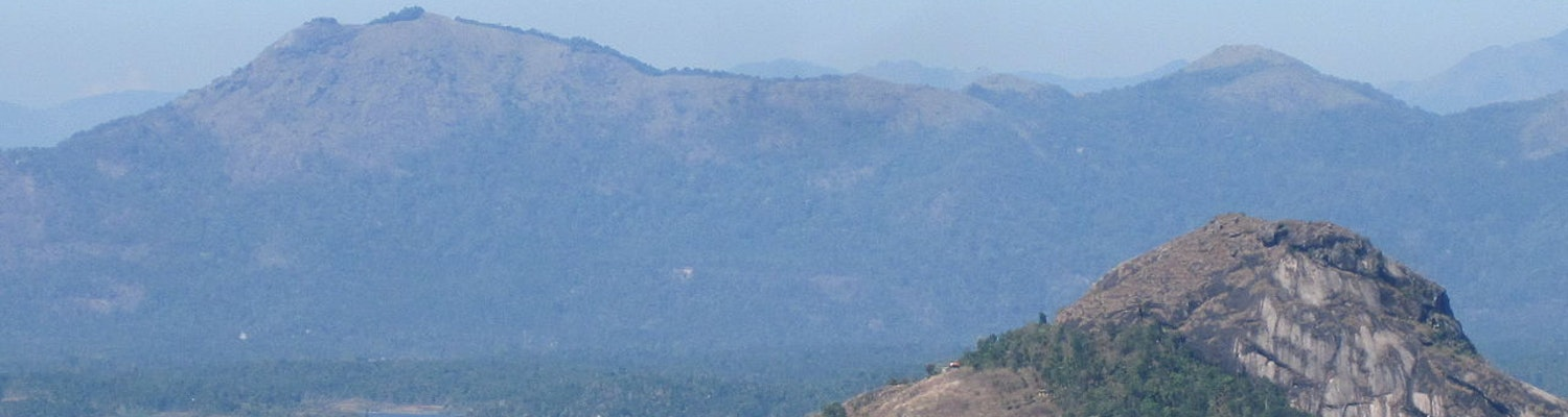 View of the Edakkal caves
