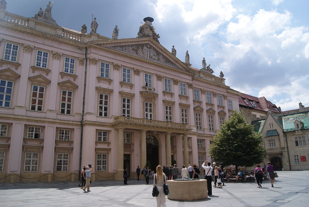 A picture of the Primate's Palace in Bratislava