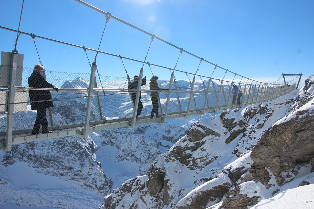 Titlis Cliff walk in Engelberg