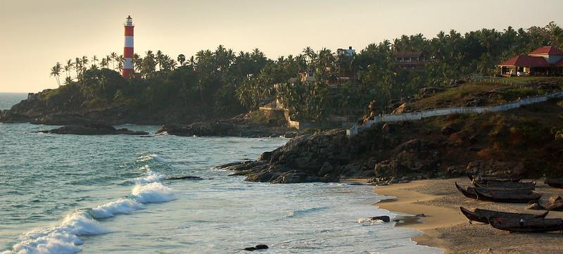 vizhinjam beach Tourist Places in Trivandrum