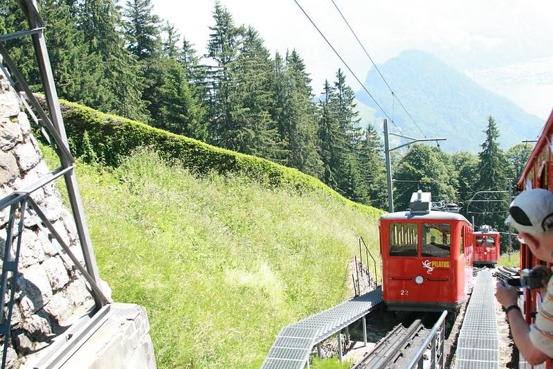 Cogwheel railway at Mt.Pilatus, Things to Do in Switzerland in May