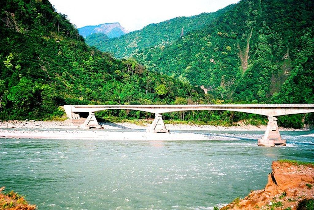 Tezu, one of the best places to visit in Arunachal Pradesh.