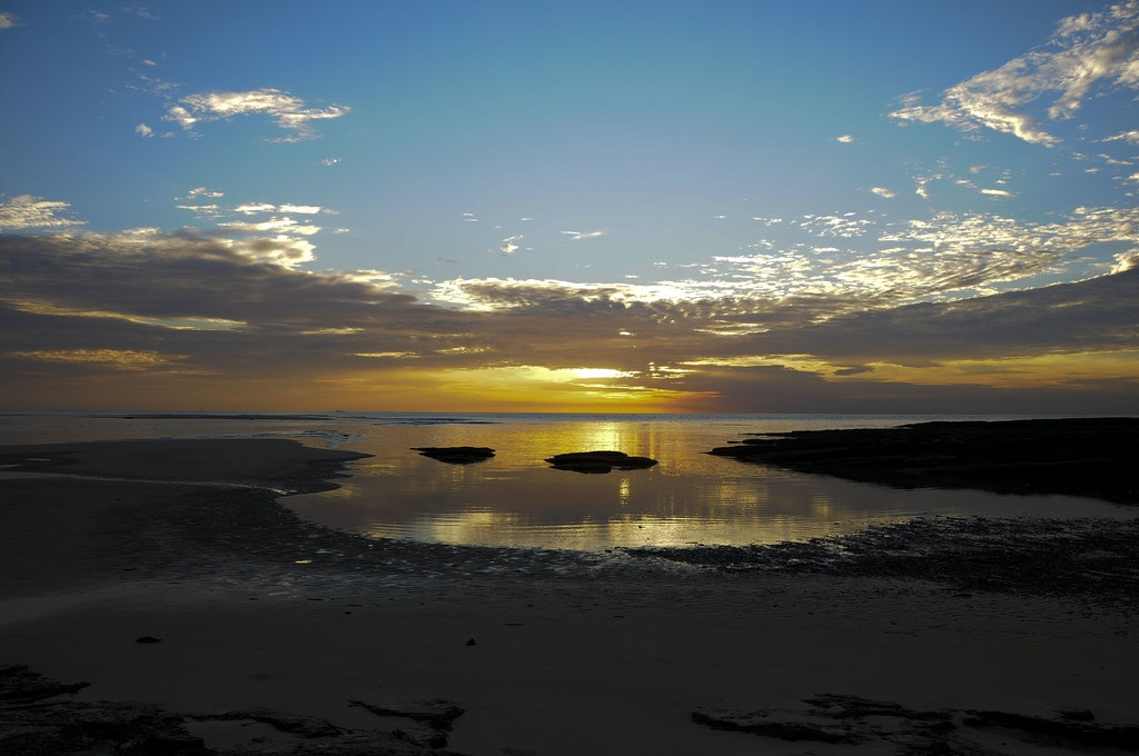 Sunset at Similajau National Park