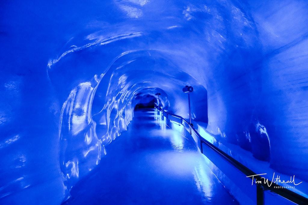 Titlis Glacier Cave in Engelberg