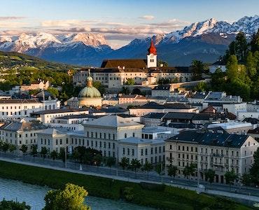 Beautiful scenery of Salzburg