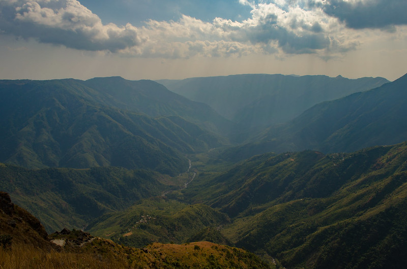Laitlum Canyon, a major attraction in Shillong Tourism