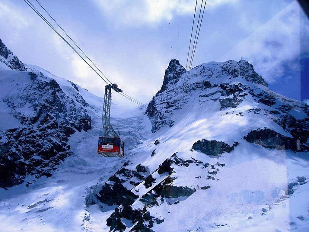 Cable car ride at Matterhorn, Things to Do in Switzerland in May