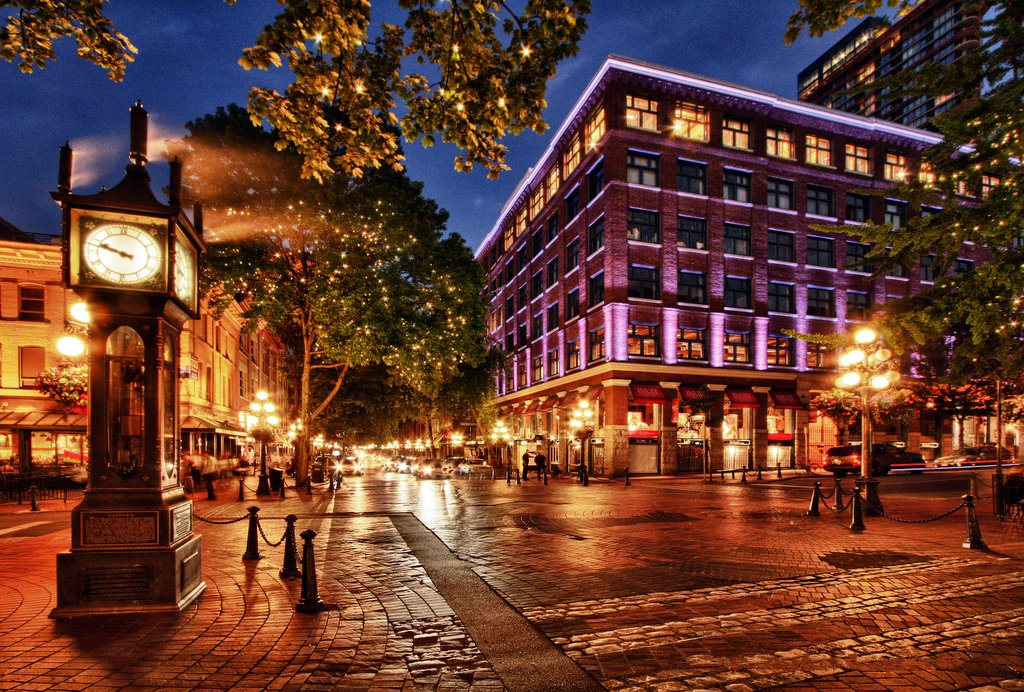 Gastown, Vancouver, DC, Canada.