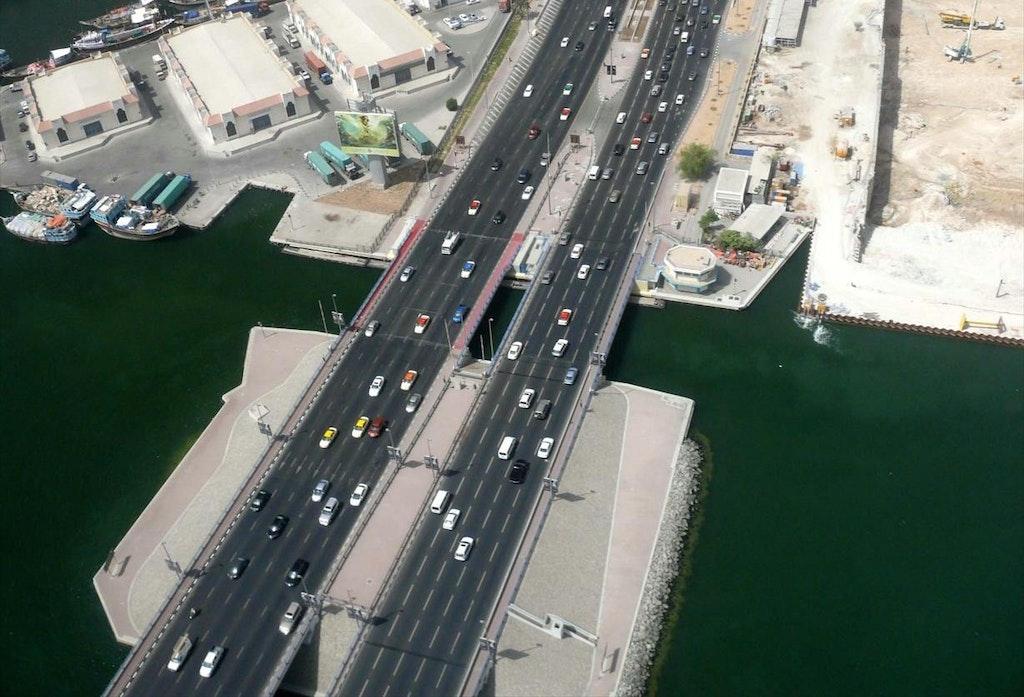 Al Maktoum Bridge in Dubai