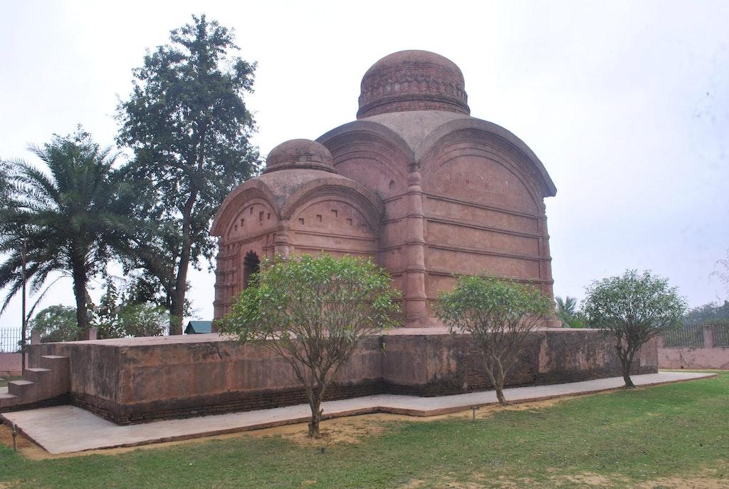 An amazing view of Bhubaneswari temple in Tripura
