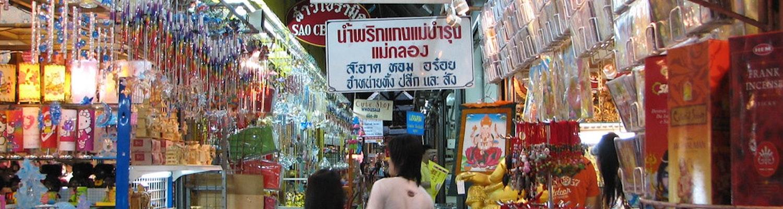 Chatuchak Market in Bangkok