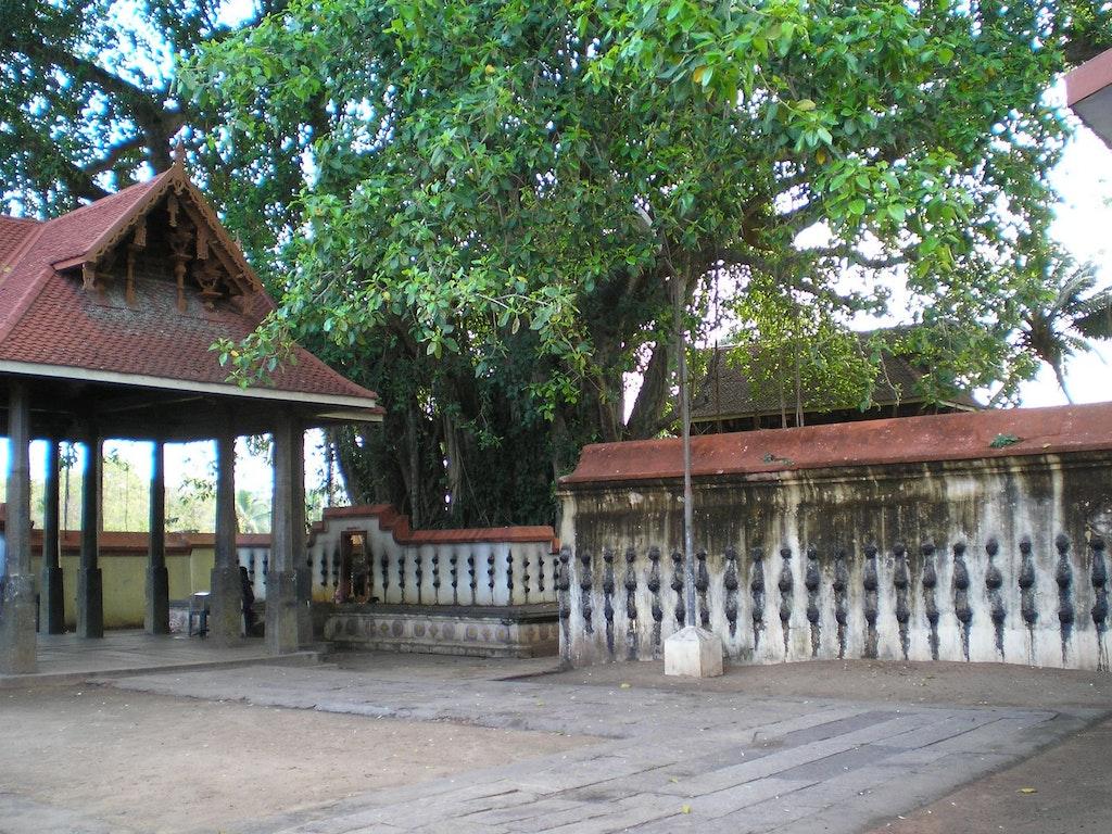 A picture of Janardhana Swami Temple near Varkala Beach in Kerala