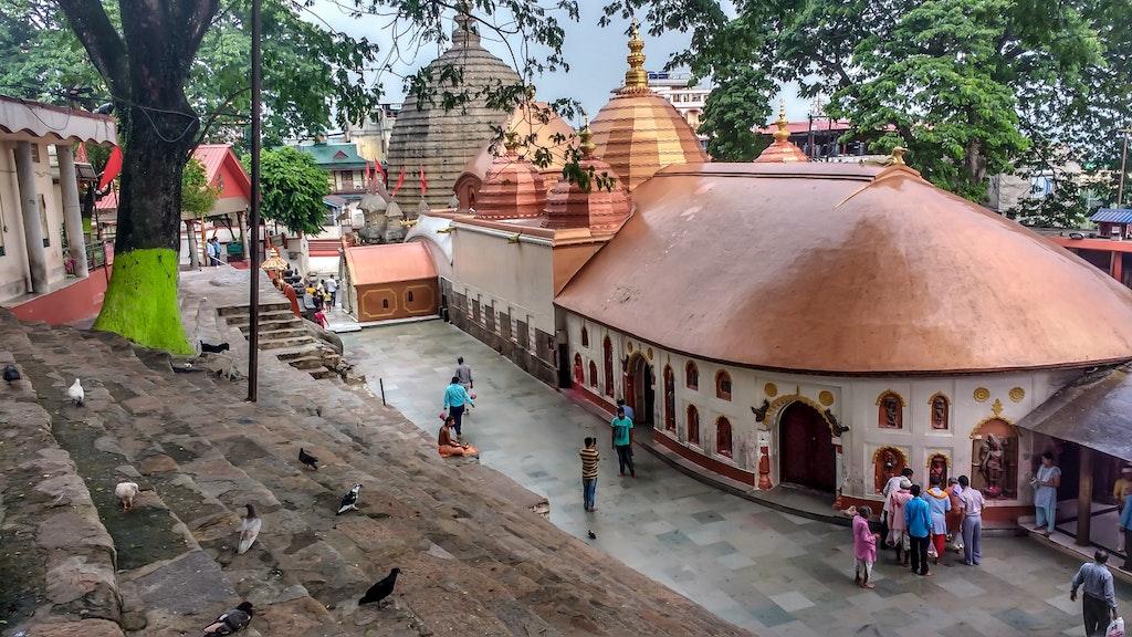 Kamakhya Temple, The shrine of Goddess Shakthi