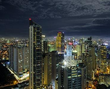 Makati night view