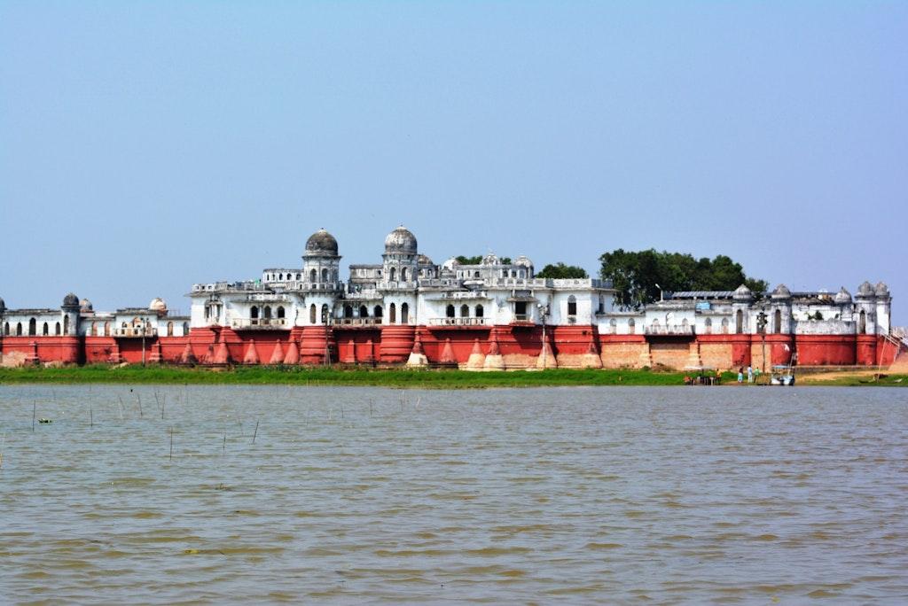 An amazing view of Neermahal in Tripura