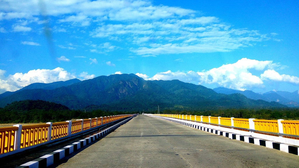 Pasighat Bridge, Arunachal Pradesh