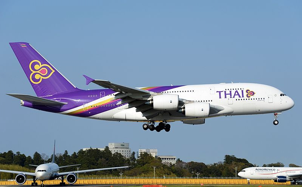 By air to Thailand