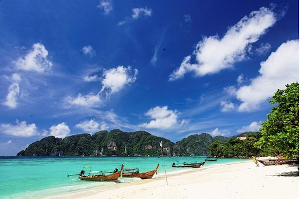 Summer season in Thailand