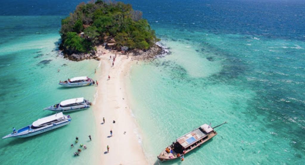 Virgin beaches of krabi,