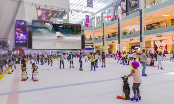 Learn to Skate in Dubai Rink