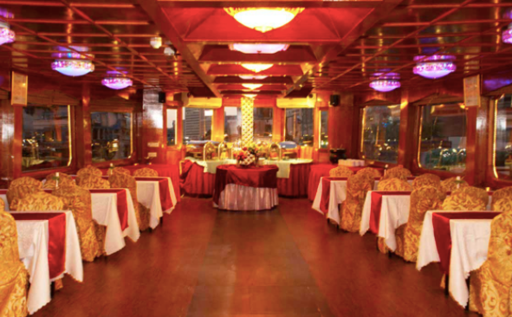 Inside Dhow Cruise