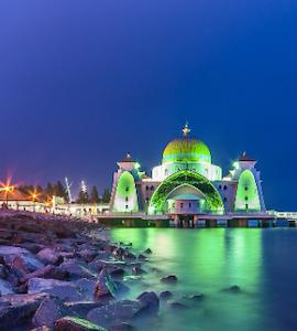 Grand Mosque in Malacca