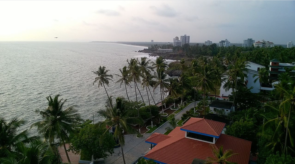 View from Thikkoti Light House